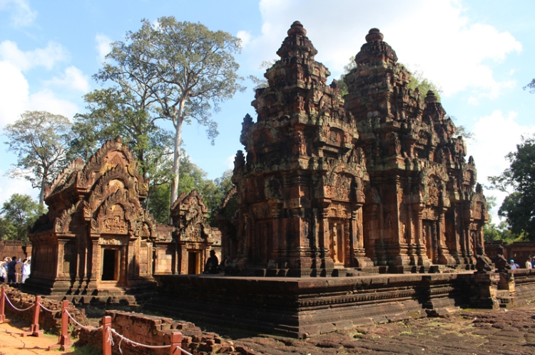 Banteay Srei Cambodge © Break and Trek_2017_2