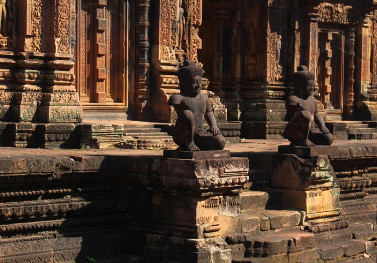Banteay Srei Cambodge © Break and Trek_2017_3