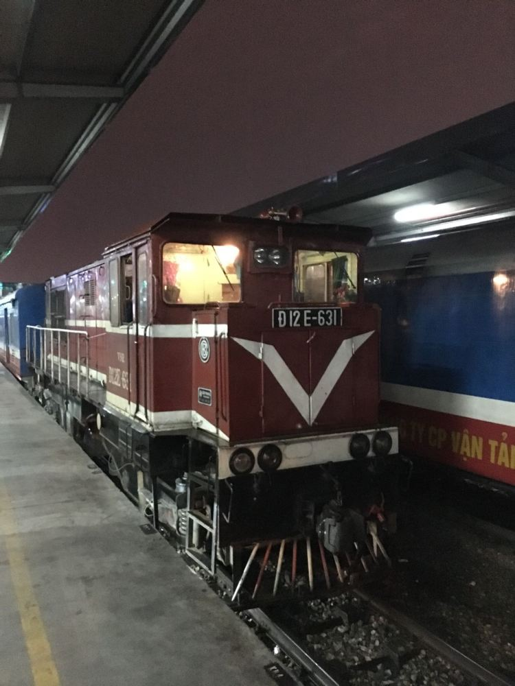 Train de Nuit Hanoi Sapa 1